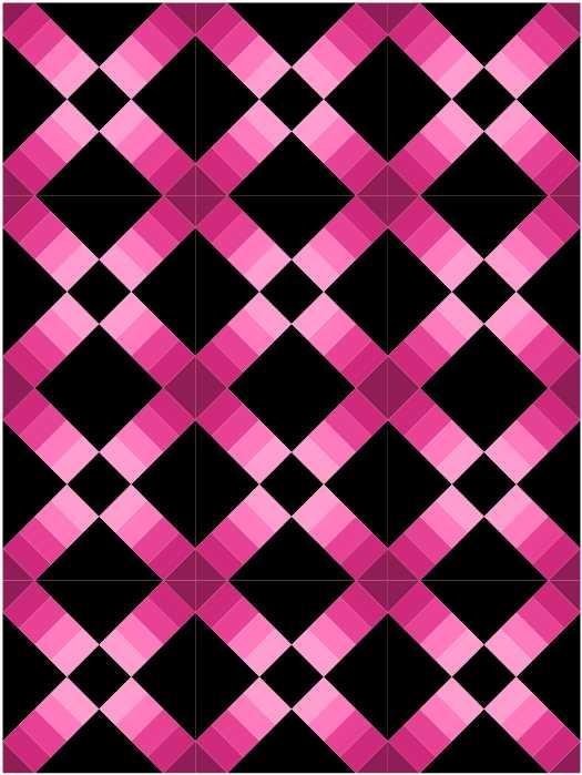 Quiltblock Cross als Quilt