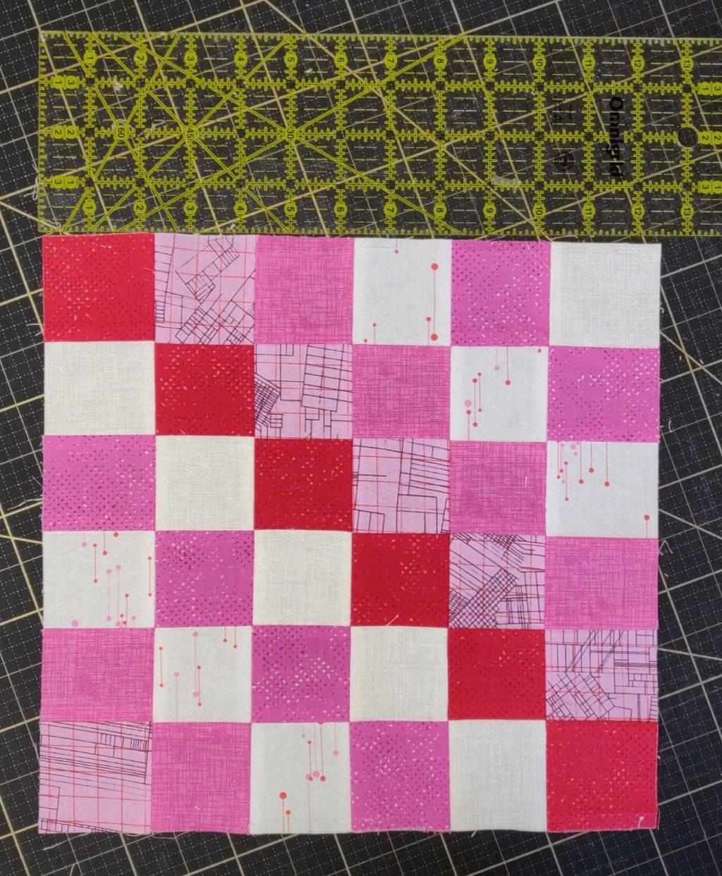 scrappy block - nachmessen