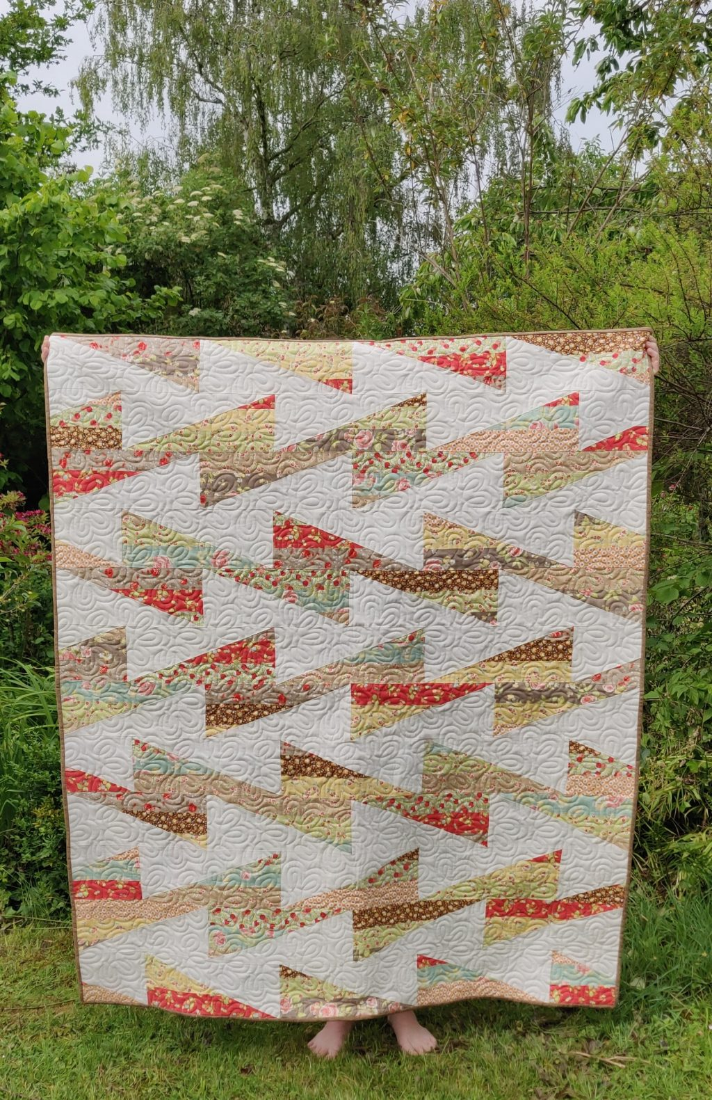 Bob and Waeve Quilt Front