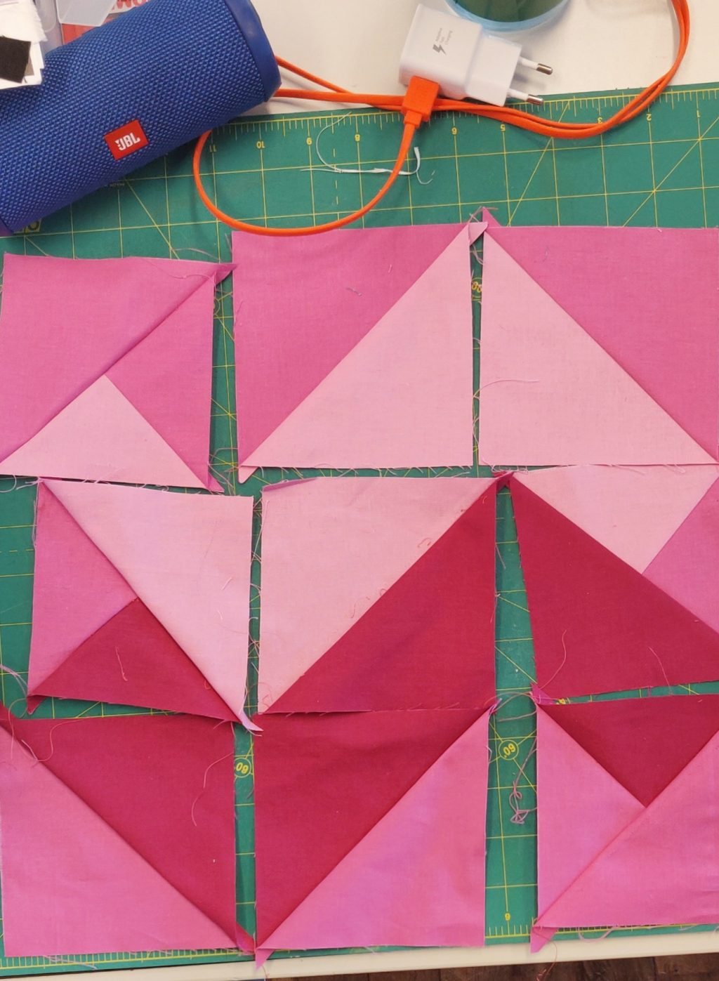 waves pink puzzle