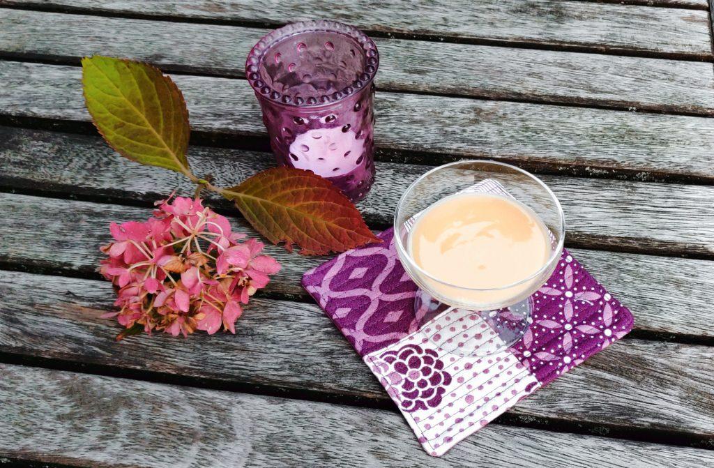 5 Minuten Mug Rug auf Tisch dekoriert
