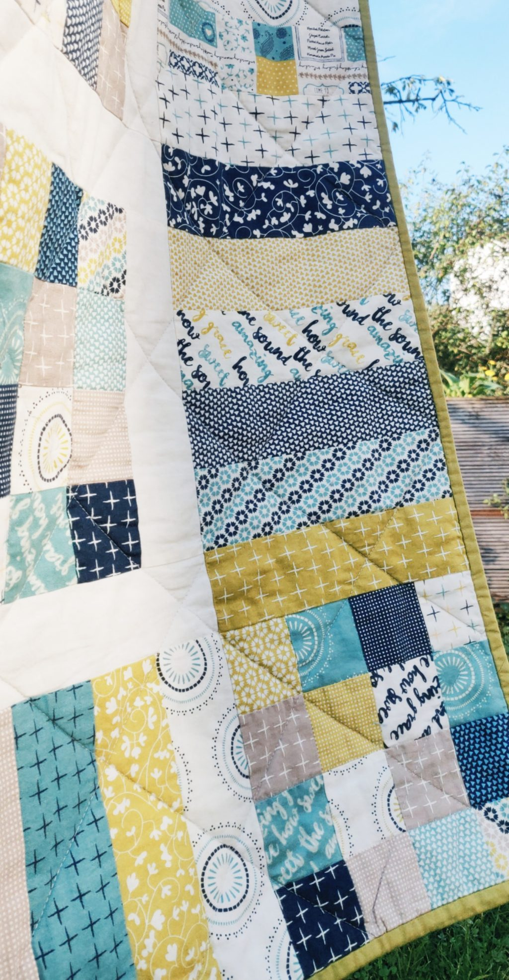 BEACH LIFE QUILT Quilting