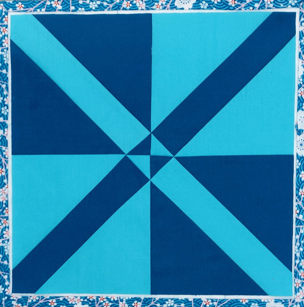Milkywayblock blau fertig